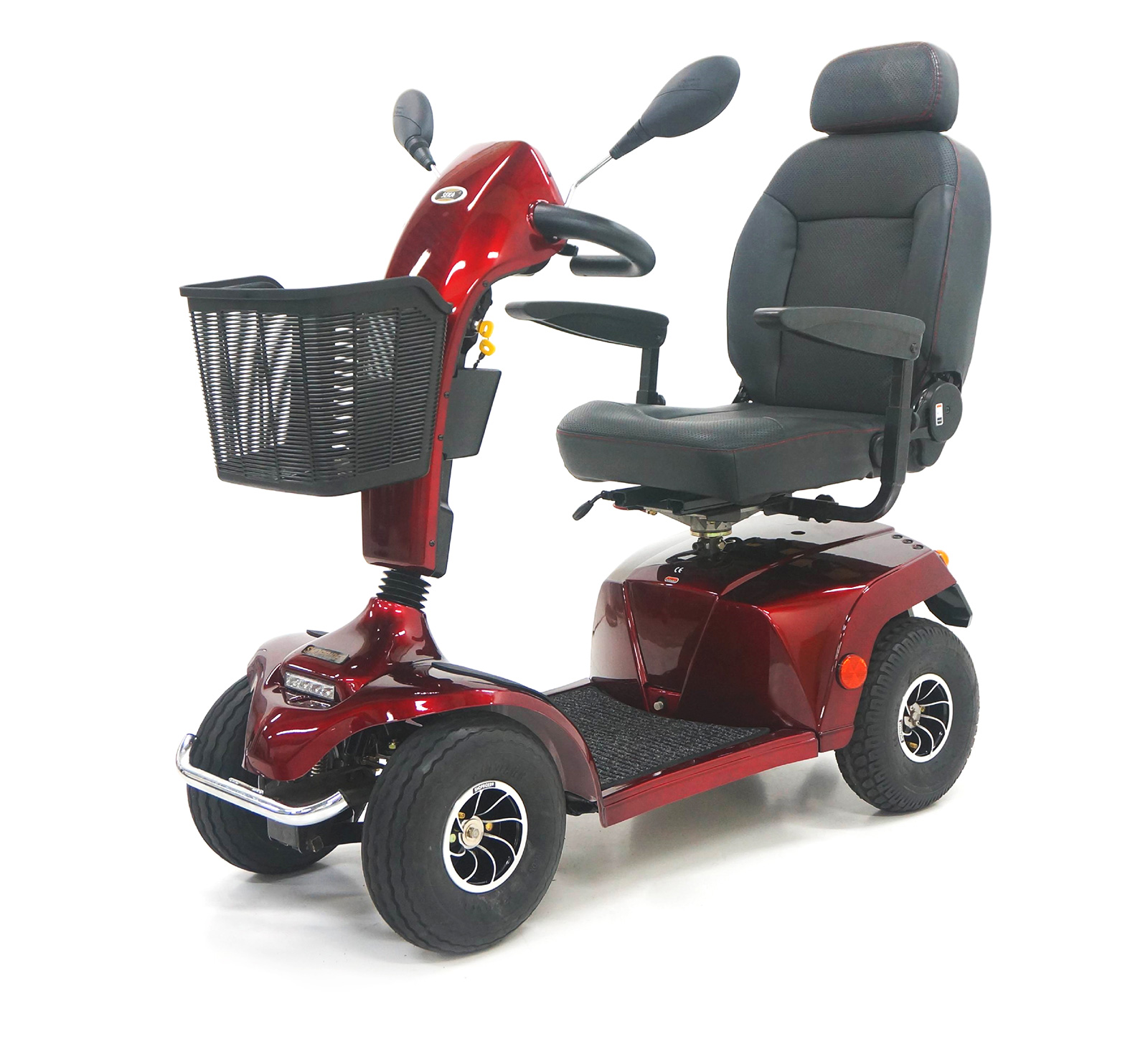 SEKA Scooter Red
